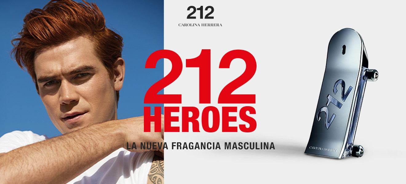 Carolina Herrera 212 Heroes fragrance