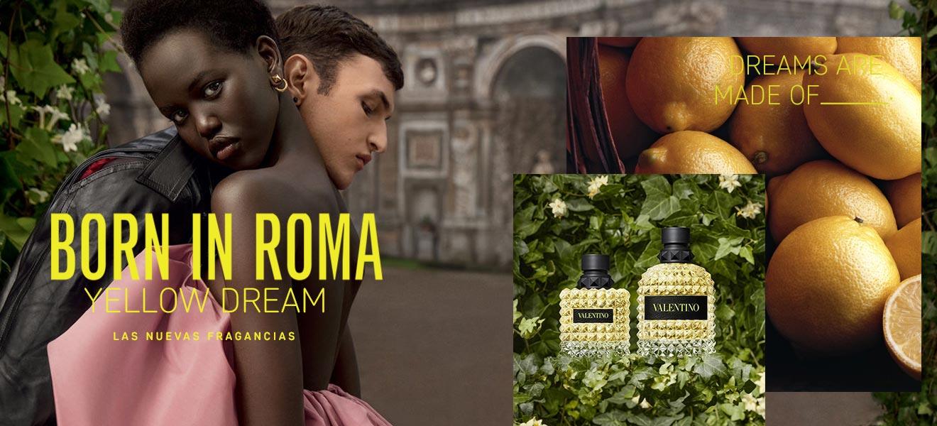 Valentino Born in Roma Yellow
